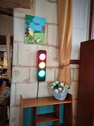 Feux tricolore vintage fareco