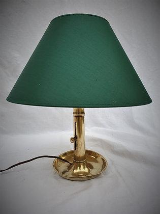 Lampe bougeoir début XXème