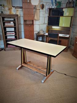 table de bistrot vintage