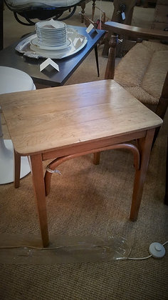 Petite table d'appoint en chêne années40