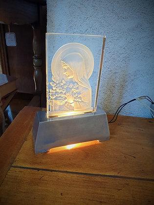 Veilleuse Sainte Marie époque Art Déco