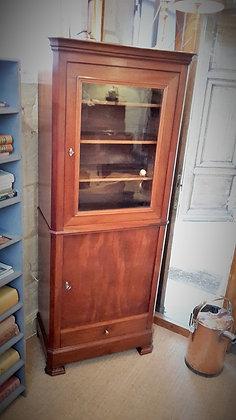Petite vitrine en acajou XIXème