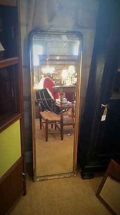 Miroir ancien étroit XIXèe
