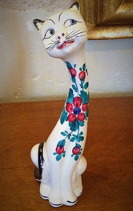 Petit chat en céramique