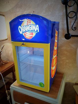 Frigo Orangina de collection pour cannettes