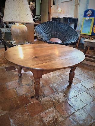 Table basse en merisier ancienne