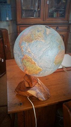 Scan globe lumineux scandinave années 60