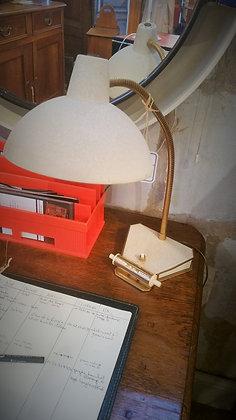 Lampe de bureau avec calendrier des années 50