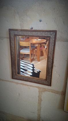 Petit miroir ancien début XXème