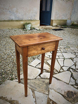 Petite table d'appoint ancienne