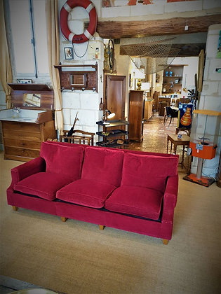 Canapé 3 places vintage