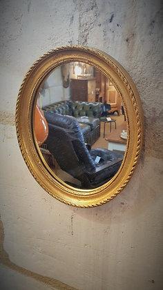Petit miroir médaillon vintage