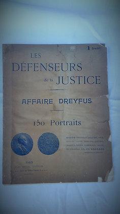Affaire Dreyfus, les défenseurs de la justice, 150 portraits