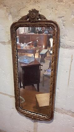 Petit miroir d'entrée début XXème
