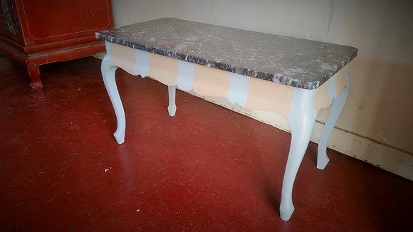 Petite table basse marbre XXème