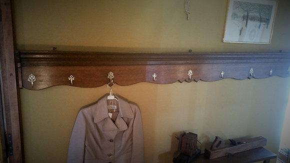 Porte manteaux en chêne ancien