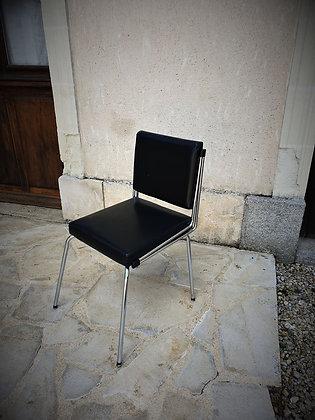 Chaise de bureau moderniste années 50