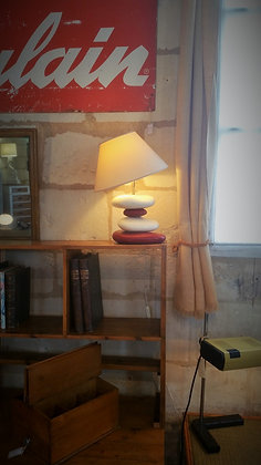 Lampe galets par François Chatain années 90