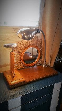 Lampe fer Le Coq Babeth vintage