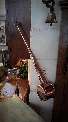 Long arrosoir en cuivre XIXème