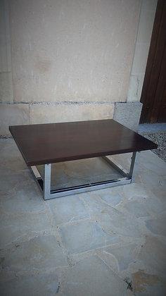 Table basse relevable vintage