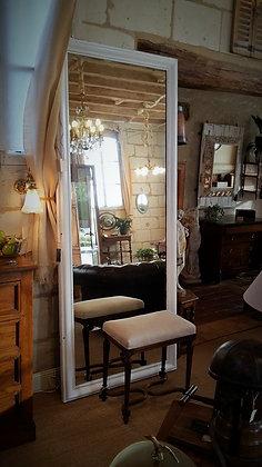 Miroir de barbier XIXème