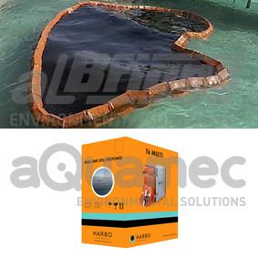 Inovação permite a reutilização de barreira de contenção de lançamento rápido