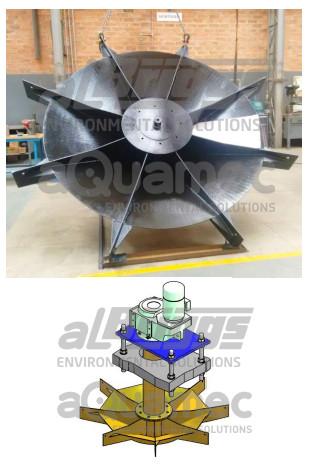 Aerador mecânico Oxyrator