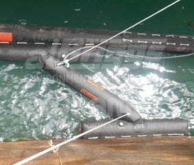 Contingência ambiental e equipamentos para operações ship-to-ship