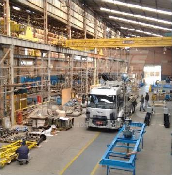 Fábrica e distribuição de equipamentos