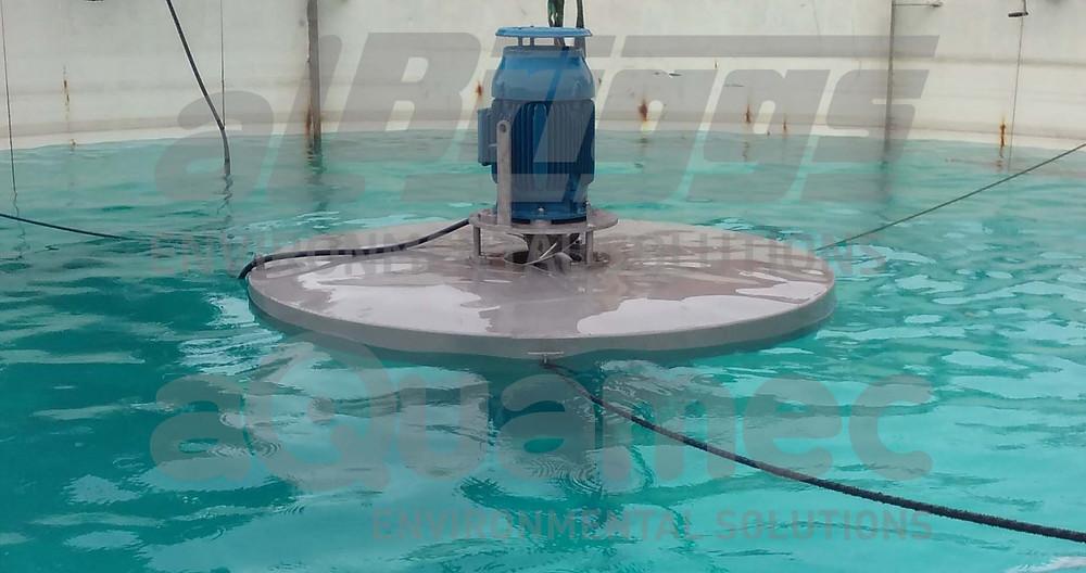 Sistema para aeração mecânica