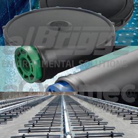 Tipos de difusores de ar de bolhas finas para tratamento de efluentes