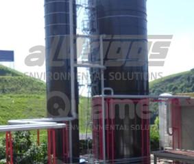 Tanques e silos modulares em aço vitrificado