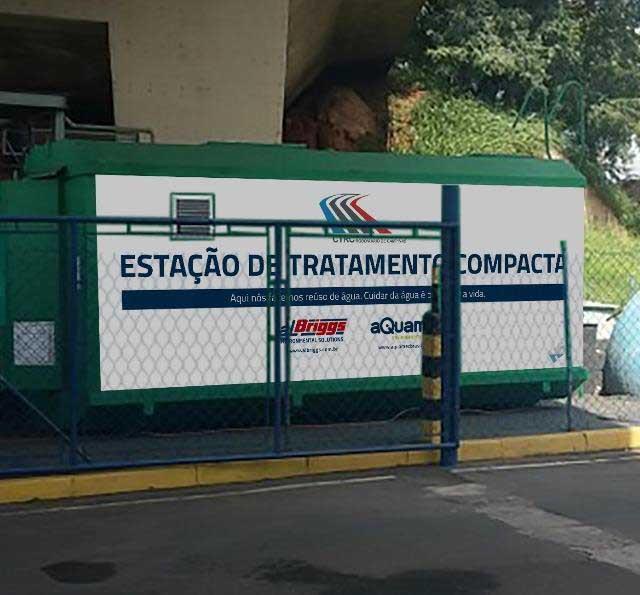 Estação de Tratamento Compacta