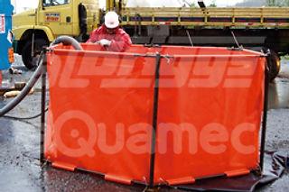 Tanque de emergência de armazenamento temporário de óleo