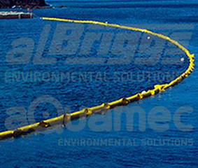 Cortinas de turbidez: controle da dispersão em plumas de sedimentos