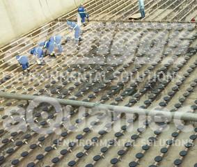 Modernização em sistemas de difusores de ar circulares