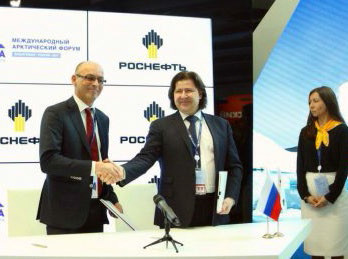Acordo firmado entre as empresas na Rússia