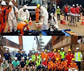Porto de Paranaguá promove simulado de emergência química