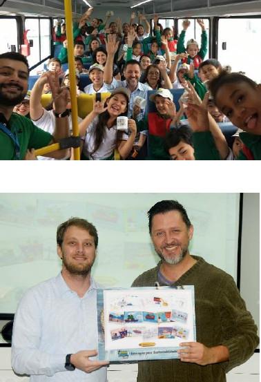 Projeto em escola Paranaguá