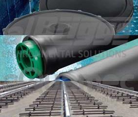 Difusores de ar de bolhas finas para sistemas de aeração