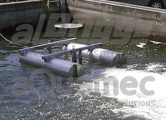 Aeração | Aerador Mecânico Submersível Flutuante AER-SL | LT