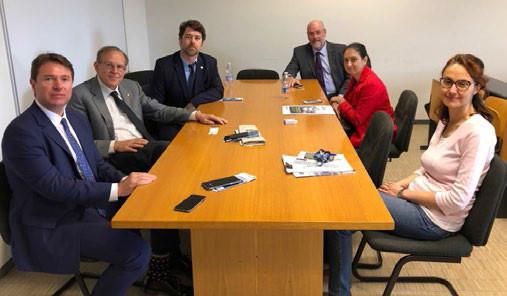 Reunião entre Politécnico de Milão e aQuamec