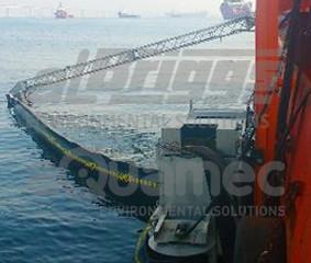 Inovação em sistema de contenção e recolhimento de óleo
