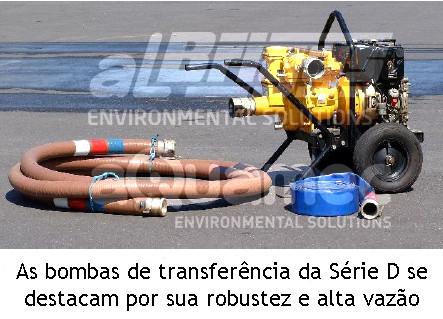 Bombas de transferência de alta vazão