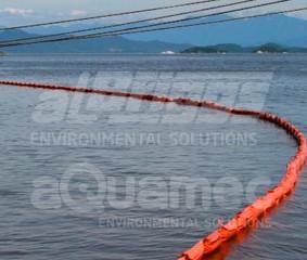 Barreira de contenção para terminal marítimo no setor de mineração