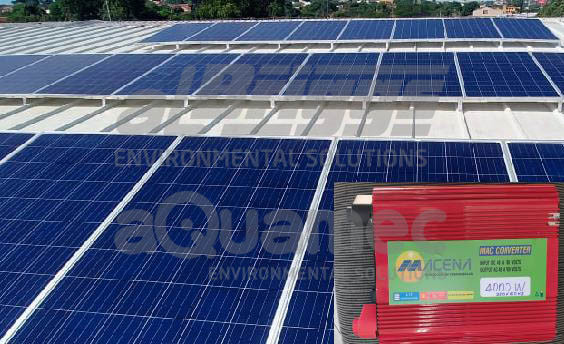 Sistema para geração de energia solar fotovoltaica off-grid