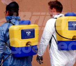Aplicador de dispersante de uso portátil Back-Pack Sprayer