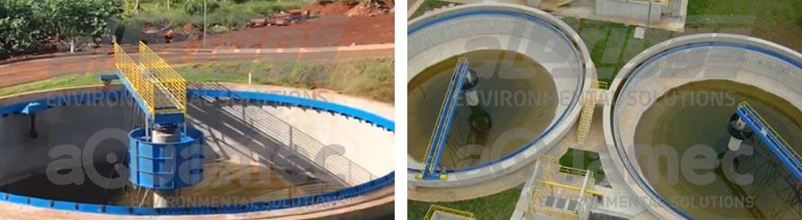 Removedor de lodo para tanques circulares tipo RTP