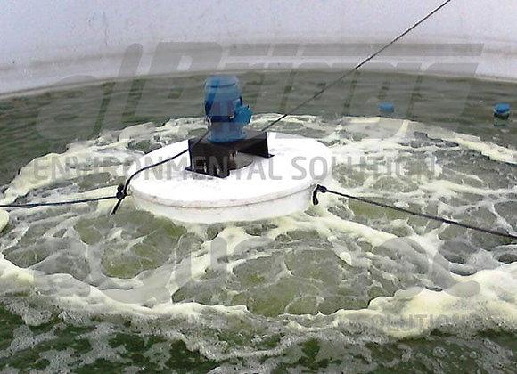 Aeração | Aerador Mecânico Flutuante de Alta Rotação Aqua-Injet | LT